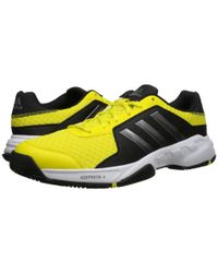 Adidas | Yellow Barricade Court for Men | Lyst