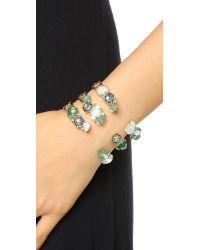 Alexis Bittar - Blue Mosaic Stone Bracelet - Lyst