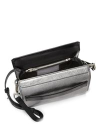 Alexander Wang - Mini Chastity Metallicleather Shoulder Bag - Lyst
