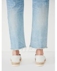 Free People | White Fp Collection Womens Palm Espadrille | Lyst