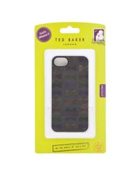 Ted Baker Blue Case For Iphone 5