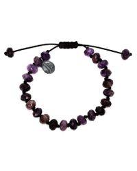 Joseph Brooks - Purple Beaded Bracelet for Men - Lyst