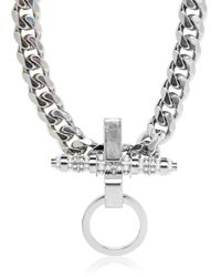 Givenchy | Metallic Embellished Chain Necklace | Lyst