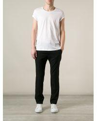 Acne Studios - White 'standard' T-shirt for Men - Lyst