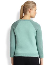 Marc By Marc Jacobs Green Gretta Sequin Sweater
