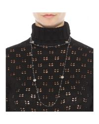 Bottega Veneta - Metallic Embellished Necklace - Lyst
