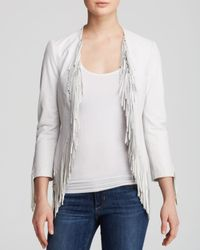 Rebecca Minkoff | White Jacket - Ace Leather | Lyst