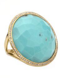 Ippolita - Blue Turquoise Lollipop Ring - Lyst