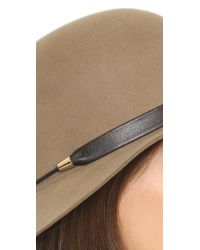 Rag & Bone - Multicolor Faye Cloche Hat - Lyst