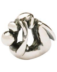 Trollbeads Metallic Sterling Silver Maternity Charm