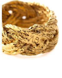 Aurelie Bidermann   Metallic 'miki' Ring   Lyst