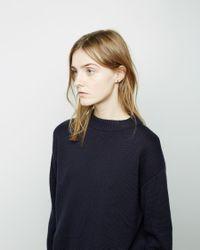 Kathleen Whitaker - Metallic Bevel Stud Ear Cuff - Lyst