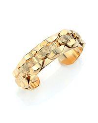 DANNIJO Metallic Salem Cuff Bracelet