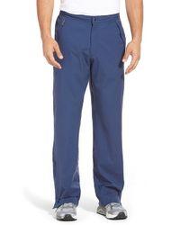 Peter Millar | Blue 'fleming' Three-layer Waterproof Rain Pants for Men | Lyst