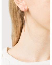 Michael Kors - Pink Skinny Hoop Earrings - Lyst