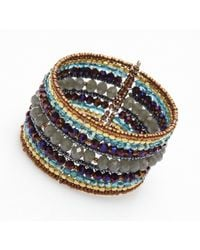 Nakamol | Multicolor Paramour Cuff-grey/purple | Lyst