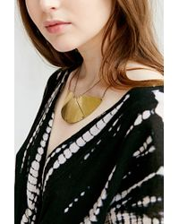 Urban Outfitters | Metallic Roman Balcony Bib Necklace | Lyst