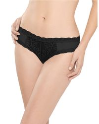 Natori | Black Feathers Hipster Panty | Lyst