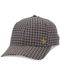 Original Penguin | Brown Tyler Baseball Hat for Men | Lyst