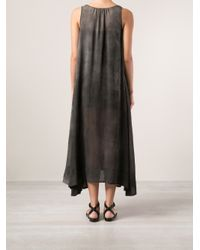 Uma Wang - Gray Sheer Dress - Lyst