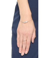 Monica Vinader | Pink Baja Mini Bracelet - Diamond/rose Gold | Lyst