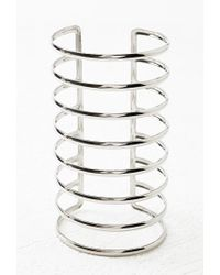 Forever 21 - Metallic Caged Arm Cuff - Lyst