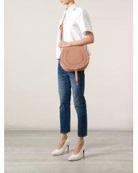Chloé | Pink Large 'marcie' Shoulder Bag | Lyst