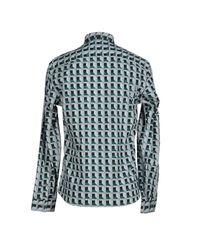 KENZO - Gray Shirt for Men - Lyst