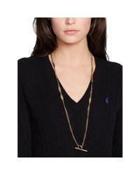 Ralph Lauren Black Polo Cable-knit Cotton Jumper