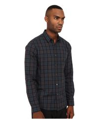 Theory - Blue Zack.winterton Button Up for Men - Lyst