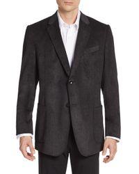 Armani - Black Regular-fit Knit Sportcoat for Men - Lyst