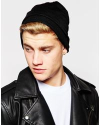 Jack & Jones | Black Fine Knit Beanie for Men | Lyst