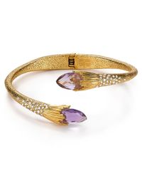 Alexis Bittar | Metallic Flared Hinge Bangle | Lyst