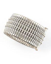 Konstantino | Metallic Hera Silver Cuff | Lyst