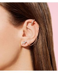 Henri Bendel - Metallic Luxe Uptown Harmony Swag Ear Cuff - Lyst