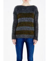 M.i.h Jeans | Gray Fishermans Breton | Lyst