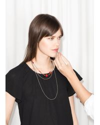 & Other Stories | Layered Bead Necklace | Lyst