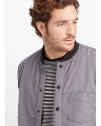 Vince Black Lightly Filled Puffer Jacket for men