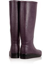 Le Chameau Purple Paris Rubber Boots