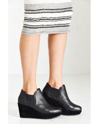 Kelsi Dagger Brooklyn Black Thea Wedge Ankle Boot