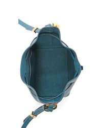 Sophie Hulme - Blue Nano Bucket Bag - Lyst