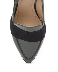 BCBGeneration - Black Jo Leather Point Toe Loafers - Lyst