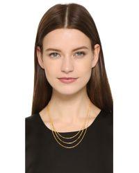 Gorjana - Metallic Cameron Layer Necklace - Gold - Lyst