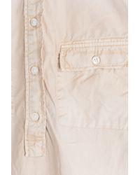Closed - Pink Cotton Shirt Dress - Beige - Lyst