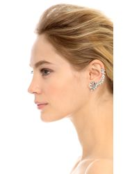 SHAY - Pink Clip On Full Ear Cuff - Rose Gold - Lyst