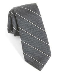Calibrate | Gray Woven Silk Blend Tie for Men | Lyst