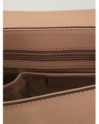 fc34c747c7 MICHAEL Michael Kors. Women s Natural Callie Medium Leather Cross-Body Bag