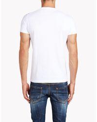 DSquared² - White T-shirt for Men - Lyst