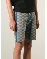 Vivienne Westwood - Gray Drawstring Shorts for Men - Lyst