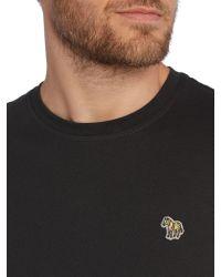 Paul Smith | Black Zebra Logo Regular Fit T Shirt for Men | Lyst